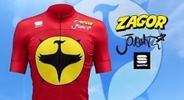 In bici con Zagor e Jovanotti, grazie a Sportful