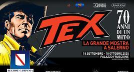 La grande mostra di Tex arriva a Salerno!