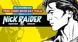 Nick Raider al Free Comic Book Day!