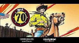 Lo spot di Tex 70 anni di un mito
