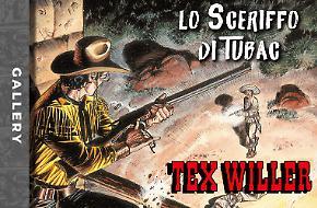 La copertina di Tex Willer di settembre!