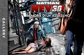 La creazione della copertina di Nathan Never 365