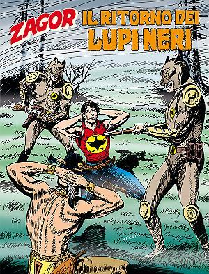 Il ritorno dei Lupi Neri - Zagor 607 cover