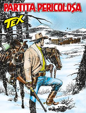 Partita pericolosa - Tex 664 cover