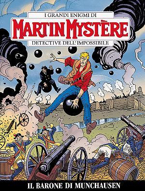 Il barone di Munchausen - Martin Mystère 344 cover