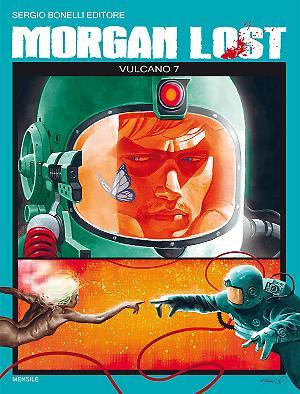 Vulcano 7 - Morgan lost 7 cover
