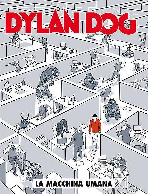 La macchina umana - Dylan Dog 356 cover