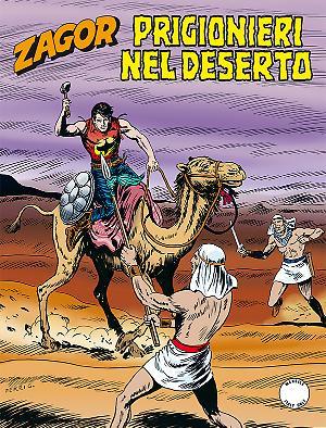 Prigionieri nel deserto - Zagor 610 cover