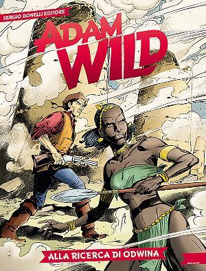 Alla ricerca di Odwina - Adam Wild 20 cover