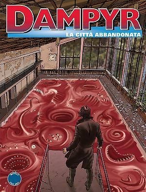 La città abbandonata - Dampyr 194 cover