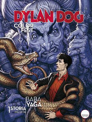 Dylan Dog Color Fest 17 cover