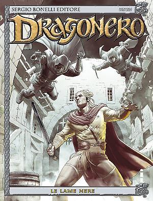 Le Lame Nere - Dragonero 36 cover