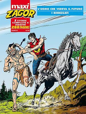 Maxi Zagor n°27 cover