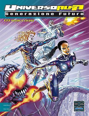Generazione Futuro - Attacco alla Terra - Universo Alfa 18 cover