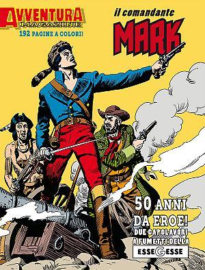 Avventura Magazine Il Comandante Mark cover