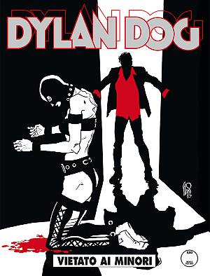 Vietato ai minori - Dylan Dog 357 cover
