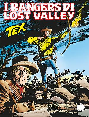 I rangers di Lost Valley - Tex 668 cover