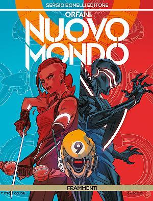 Frammenti - Orfani Nuovo Mondo 09 cover