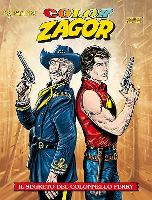 Il segreto del Colonnello Perry - Color Zagor 04 cover