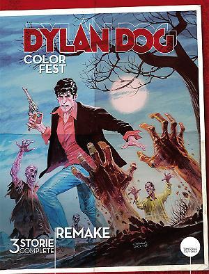 Dylan Dog Color Fest 18 cover