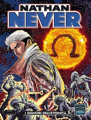 I Signori dell'Eternità - Nathan Never 303 cover