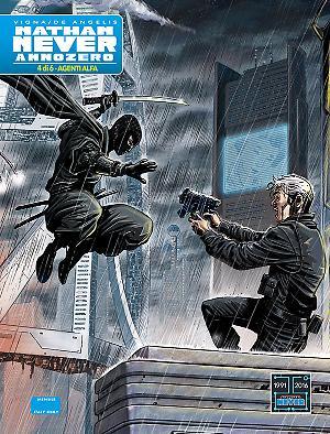 Agenti Alfa - Nathan Never Annozero 04 cover