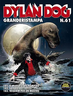 Dylan Dog GrandeRistampa n° 61 cover