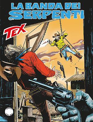 La banda dei serpenti - Tex 671 cover