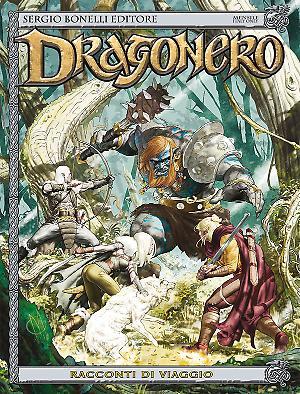 Racconti di viaggio - Dragonero 40 cover