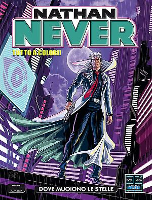 Dove muoiono le stelle - Nathan Never 304 cover