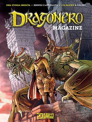 Dragonero Magazine 2016 cover