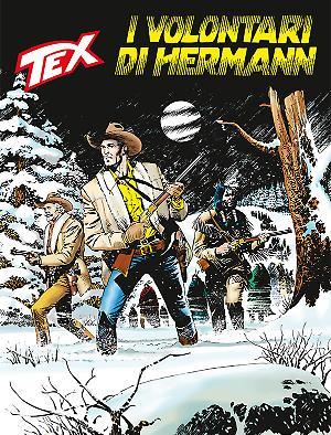 I volontari di Hermann - Tex Tre Stelle 632 cover