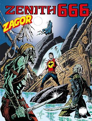 Zenith 666 - Zagor 615 cover