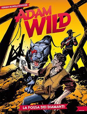La fossa dei diamanti - Adam Wild 25 cover