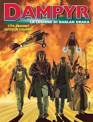 La legione di Harlan Draka - Dampyr 200 cover