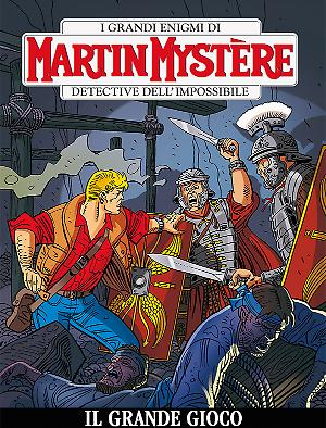 Il grande gioco - Martin Mystère bimestrale 348 cover