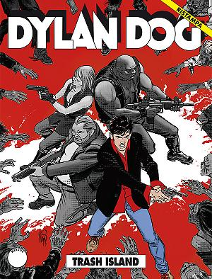 Trash Island - Dylan Dog Ristampa 328 cover