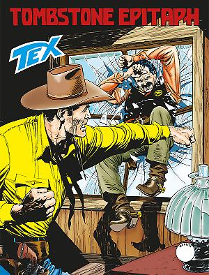 Tombstone Epitaph - Tex Tre Stelle 633 cover