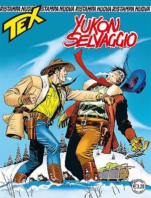 Yukon selvaggio - Tex Nuova Ristampa 412 cover