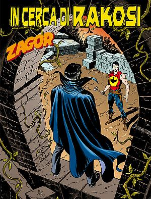 In cerca di Rakosi! - Zagor 617 cover