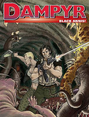 Black Annis! - Dampyr 201 cover