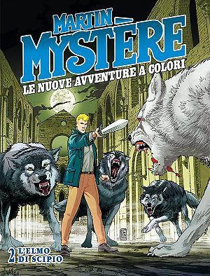 L'elmo di Scipio - Martin Mystère Le Nuove Avventure a Colori 02 cover