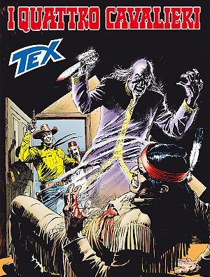 I quattro cavalieri - Tex 674 cover