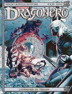 L'orrore di Teoan - Dragonero 43 cover