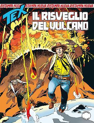 Il risveglio del vulcano - Tex Nuova Ristampa 414 cover