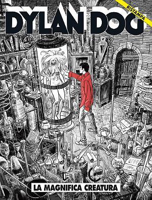 La magnifica creatura - Dylan Dog Ristampa 330 cover