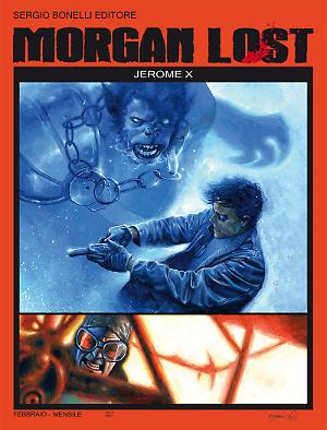Jerome X - Morgan Lost 17 cover