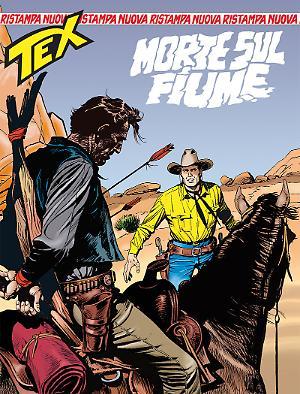 Morte sul fiume - Tex Nuova Ristampa 418 cover