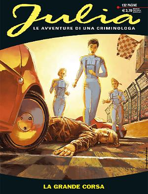 La grande corsa - Julia 222 cover