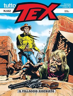 Il villaggio assediato - Tutto Tex 552 cover